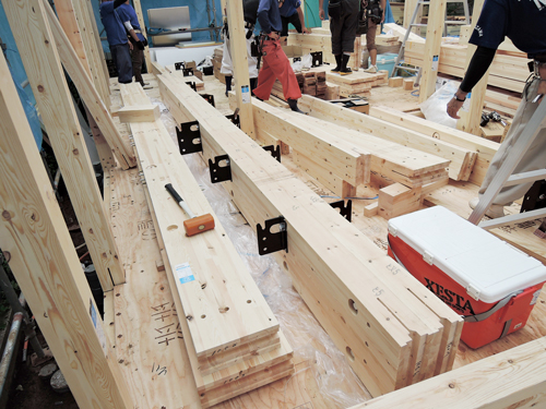 SE構法で使用される木材